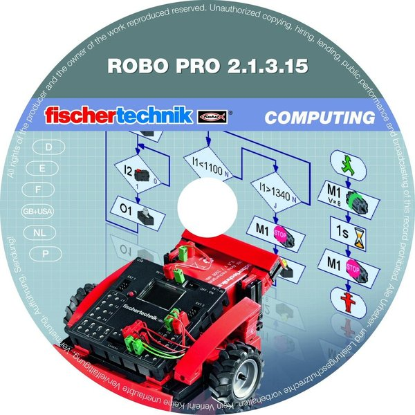 fischertechnik Copmuting Plus ROBO Pro Software Sonderpreis!